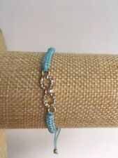 Unbranded Turquoise Infinity Costume Bracelets