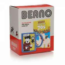 OFFICIAL BEANO COMICS BEST OF THE 70S MINI ANNUAL AND COFFEE MUG GIFT SET