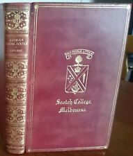 Kipling [Scotch College Melbourne Prize Fine Binding 1928] Songs From Books 1918
