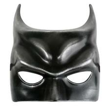 MENS MALE MASQUERADE MASK GOTHAM STYLE PARTY/FANCY DRESS BLACK/SILVER