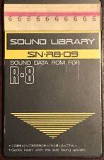Roland SN-R8-08 - Tarjeta de ROM de datos de sonido para R-8