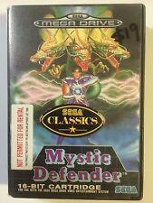Mystic Defender Sega Mega Drive (SENT NEXT DAY)