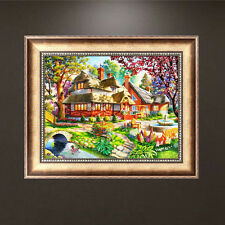 Oil Painting Hut 5D DIY Diamond Painting Embroidery Cross Stitch Home Decor