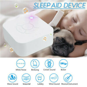 Sound Spa Relax Machine White Noise Baby Adult Sleep Nature Night Therapy Device