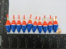 BOBBERS PANFISH ICE FISHING NO FREEZE UP ON LINE B134 10 NEW WOOD SLIP FLOATS