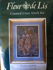 The Power of the Dream counted X stitch kit by Fleur de Lis, Jody Bergsma sealed
