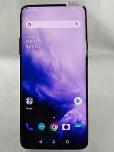 "OnePlus 7 Pro GM1917 256GB AT&T GSM Unlocked Dual SIM 6.6"" Smartphone Blue X296"