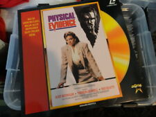 'Physical Evidence' 1990 Dutch Edition Laser Disc -PAL-