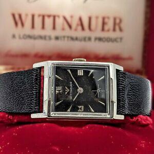 WITTNAUER - LONGINES Watch 17 Jewels Movement Revue 84/1G Swiss - Original BOX!