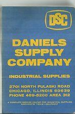1966 Daniels Supply Company Catalog Tools Hardware Industrial Asbestos