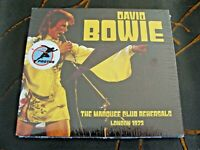 CD Double: David Bowie : The Marquee Club Rehearsals : Live London 1973 : Sealed