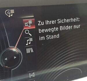 TVfree TV und DVD Freischaltung über Dignose für BMW der F-Serie Video in Motion
