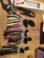 Balmain Plug & Play Hair Extensions & Rings Plus Book + Goldwell Professional Bk