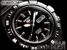 SEIKO 5 SPORTS AUTOMATIC MENS WATCH SRP141 SRP141J1 MADE IN JAPAN w/ORIGINAL BOX