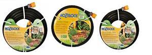 Hozelock 10m/15m/25m Garden Soaker Hose, Flow Control Nozzle, Flowers/Vegetables