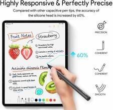 Stylus Pen for iPad, Palm Rejection, Penoval High-Precision Pencil for   (Black)