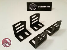 [SR] UNIVERSAL SUPER LOW DOWN SIDE MOUNT BRACKETS NRG RECARO SPARCO BRIDE SEAT
