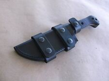 KA BAR BECKER BK-2 CUSTOM LEATHER SHEATH (SHEATH ONLY)