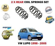 FOR VW LUPO 1.0 1.4 16V FSI  TDI 1.7 SDI 1998-2005 2X REAR AXLE COIL SPRING SET