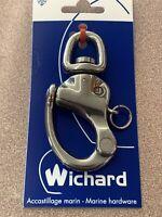 WICHARD Fairlead Stainless Steel Single Eye for Rail Mount