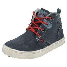 Chaussures à lacets en toile pour garçon de 2 à 16 ans