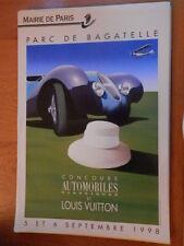 rare affiche RAZZIA automobiles 1998 original louis vuitton