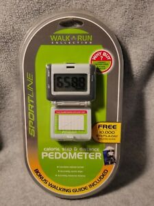 Sportline Pedometer WALK/RUN COLLECTION Step, Distance & Calorie New Sealed