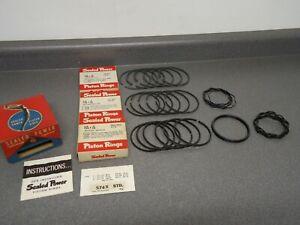 dodge freightliner Sealed Power E977KC Chrome Piston Rings  1 piston only !!!!!