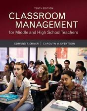Classroom Management for Middle and High School Teachers with MyEducationLab...