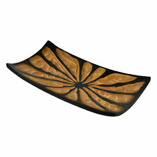 Gentle Long Leaves Mango Wood Plate/Tray