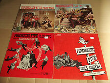 FIREHOUSE FIVE PLUS TWO - PLAYS FOR LOVERS / CRASHES A PARTY / TWENTY ... - 4 LP