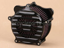 Gloss Black Stripe Air Cleaner Filter For Harley Electra Glide CVO Ultra Classic