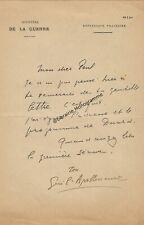 APOLLINAIRE (Guillaume) poète et écrivain français (1880-1918)