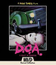 D.O.A. - A Right Of Passage Blu-Ray + DVD MVD Rewind Lech Kowalski 1980