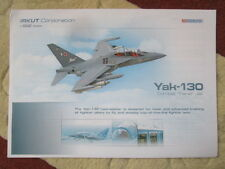 2015 DOCUMENT ROSOBORONEXPORT IRKUT YAK-130 COMBAT TRAINER JET