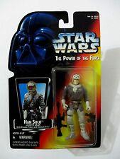 STAR WARS POTF Han Solo in Hoth Gear w/ Pistol & Rifle KENNER 1995 MOC