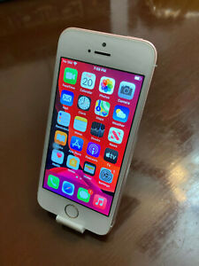 Apple iPhone SE - 64GB - Rose Gold (Unlocked) A1662 (CDMA+GSM) - Bad Home Button