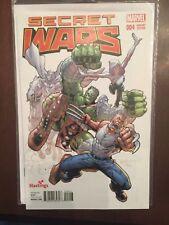 Secret Wars #4 Hastings Variant Marvel Comics