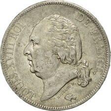 [#452663] France, Louis XVIII, 5 Francs, 1820, Rouen, TB+, Argent, KM:711.2, Gad