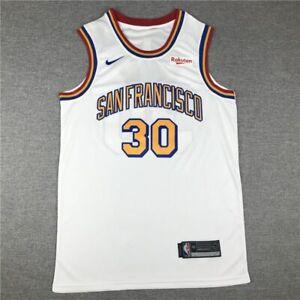 NBA Men's Golden State Warriors #30 Stephen Curry Basketball Jerseys San