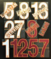 NOME+NUMERO UFFICIALE AS ROMA HOME/AWAY 2013-2014 official nameset
