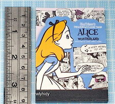 Disney Alice In Wonderland Small Size Writing Pad  Made In Japan   , h#5ok