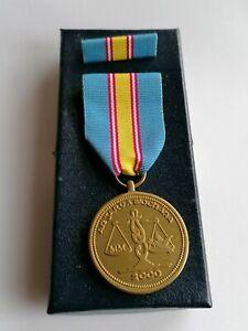 Garda Síochána Millennium Medal, Irish Police, Ireland, RUC, RIC