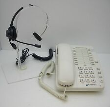 Plantronics Starbase SB2010 Single Line Corded Phone with T100 headband Headset