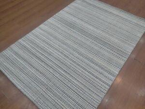 5' x 7' Rug |Modern Luxury Soft Hand-Loom Wool Gray Color  Area Rug