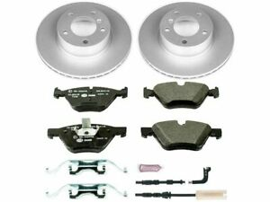 For 2008-2010 BMW 128i Brake Pad and Rotor Kit Front Power Stop 81579JJ 2009