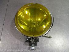 "LML STAR 125 150 200 YELLOW HALOGEN 12V 4&1/2"" SPOT LAMP LIGHT QUALITY"