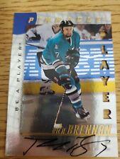 1997-98 Be A Player Autographs Die Cut #236 Rich Brennan