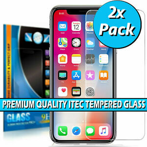 Gorilla Tempered Glass Screen Protector for iPhone 12 11 Pro Max XR XS 7 8 6 SE