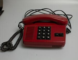 """Altes Posttelefon """"Capella"""" FeTAp 95-1 - rot - gebraucht"""